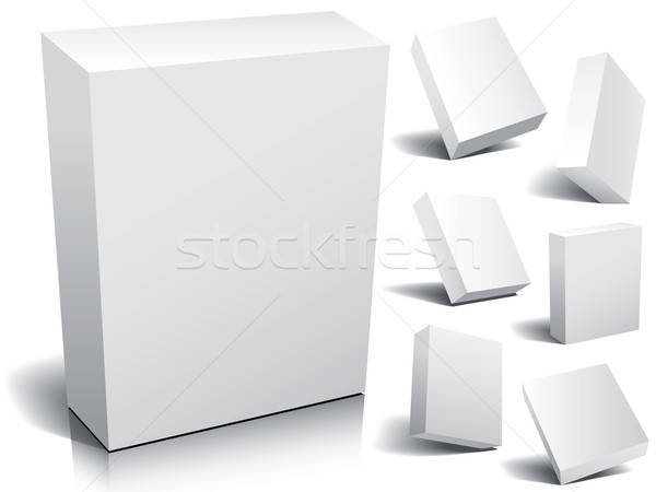 Blank box Stock photo © Aiel