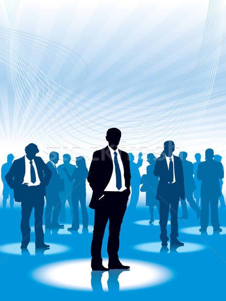 Corporate people Stock photo © Aiel