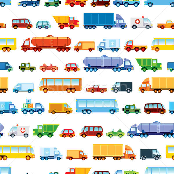 Toy car pattern Stock photo © Aiel