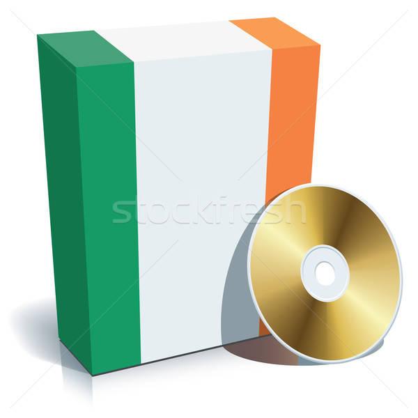 Irish software box and CD Stock photo © Aiel