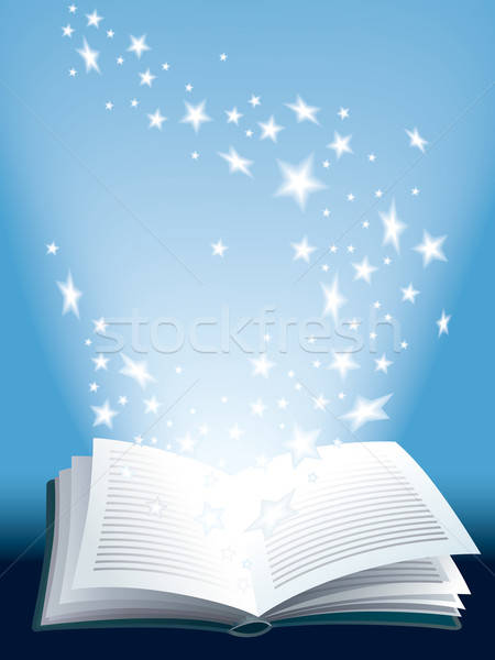Magic book Stock photo © Aiel