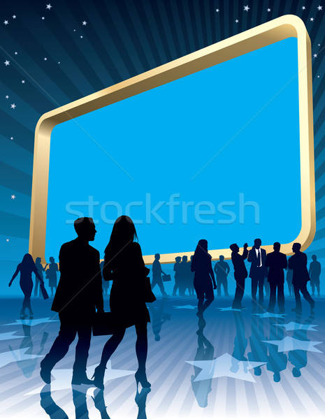 Large billboard Stock photo © Aiel