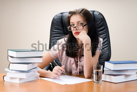 Attractive business lady Stock photo © Aikon