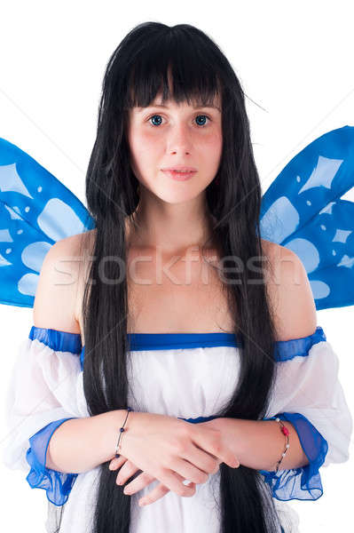pixie girl Stock photo © Aikon