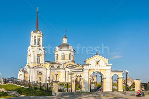 Temple of the Blessed Virgin Assumption. Russia Stock photo © Aikon