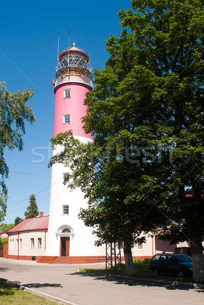 Lighthouse is Baltiysk, Russia Stock photo © Aikon