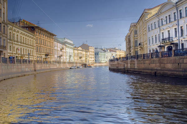 River in Saint Petersburg Stock photo © Aikon