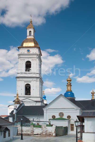 クレムリン 複雑な 町 空 風景 セキュリティ ストックフォト © Aikon