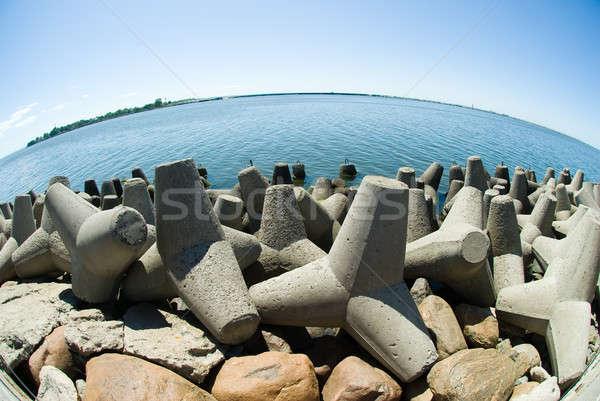 具体的な バルト海 チャンネル ほくろ 市 夏 ストックフォト © Aikon