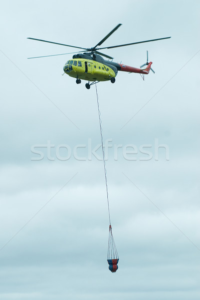 Fire Helicopter from Russia Stock photo © Aikon