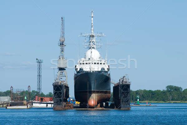 Navio secar doca ciência grande flutuante Foto stock © Aikon