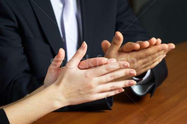 Office applause Stock photo © Aikon