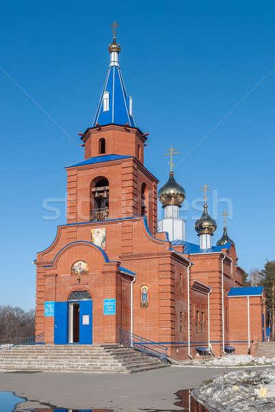 Sacro chiesa Russia 2009 siberia cielo Foto d'archivio © Aikon