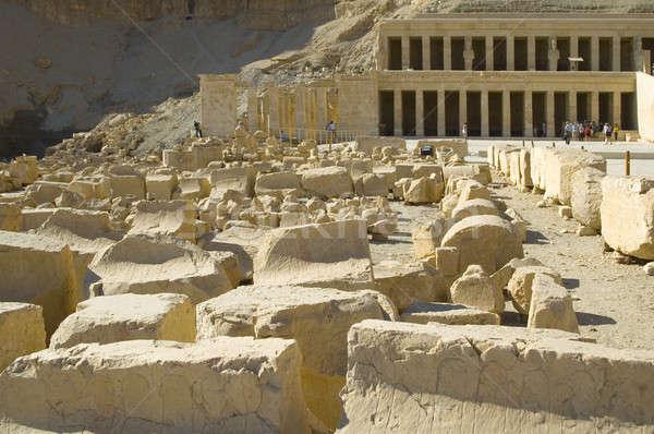Hatchepsut Temple ruins Stock photo © Aikon