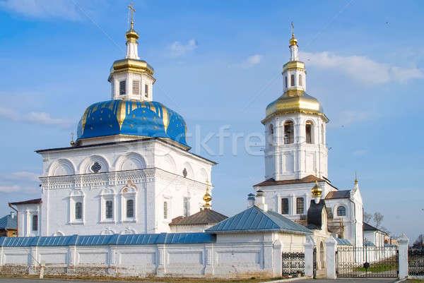 Abalak. Svyato-Znamensky Abalak man's monastery Stock photo © Aikon