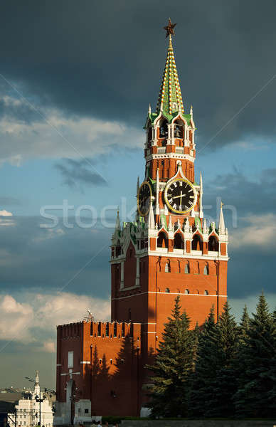 Kremlin. Spasskaya tower. Moscow. Russia Stock photo © Aikon