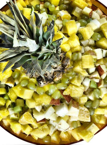 Salad on plate Stock photo © Aikon