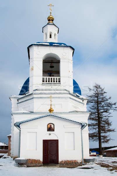 John Predtechi's church. Tobolsk district. Russia Stock photo © Aikon