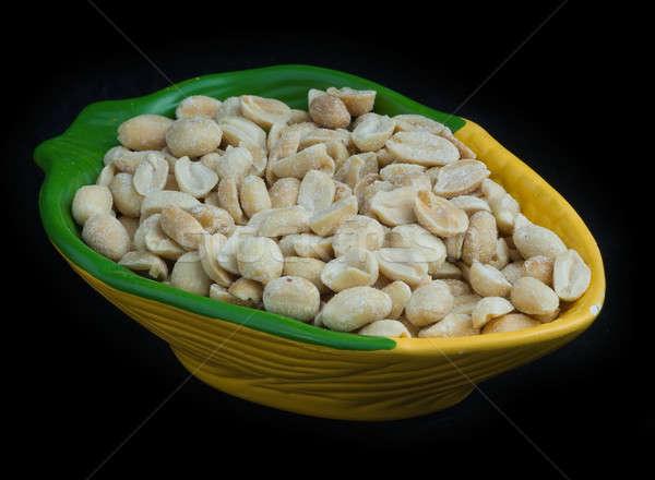 Salgado concha cerveja potável comida fruto Foto stock © Aikon