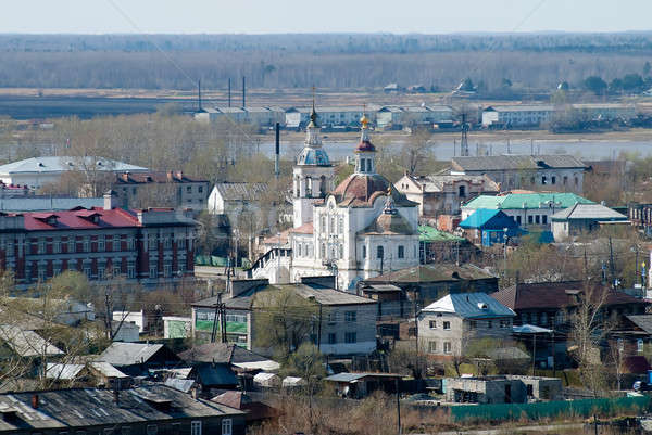 Church of Saint Michael the Archangel. Tobolsk Stock photo © Aikon