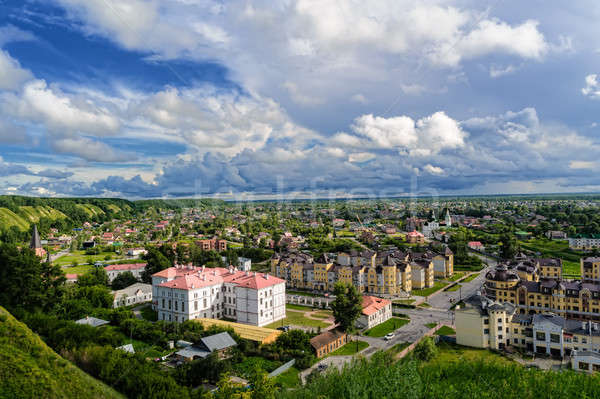 Down town of Tobolsk, Russia Stock photo © Aikon