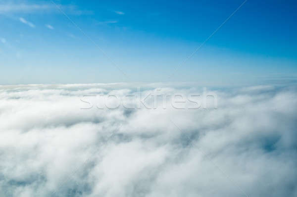 Above clouds Stock photo © Aikon