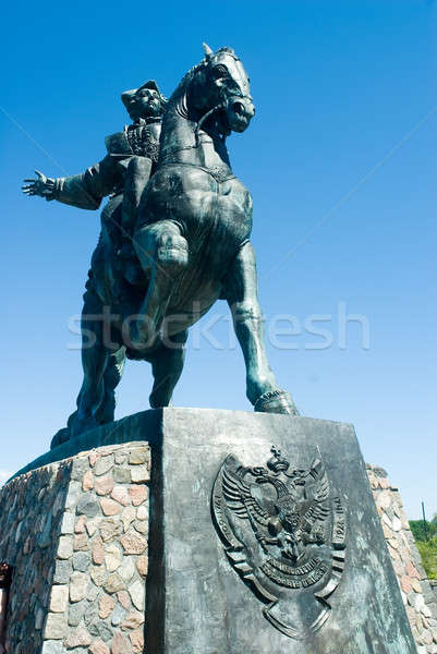 monument to Elisabeth Petrovna, Baltysk, Russia Stock photo © Aikon