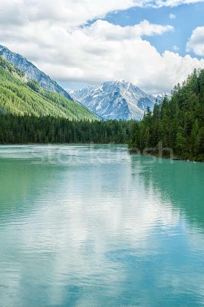 Kucherla lake in Altai Stock photo © Aikon