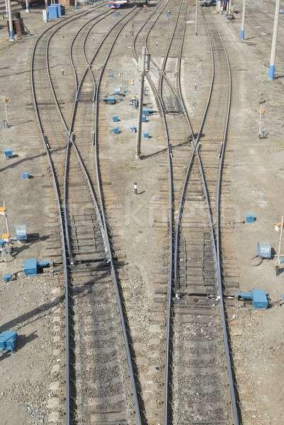 Railway node Stock photo © Aikon