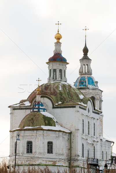Church of Zakhariya and Elizabeth in Tobolsk Stock photo © Aikon
