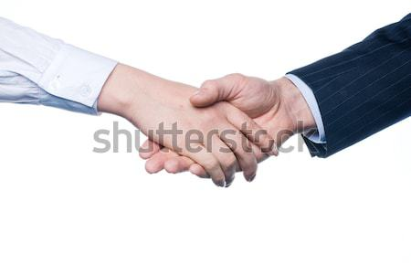 Business handshake Stock photo © Aikon