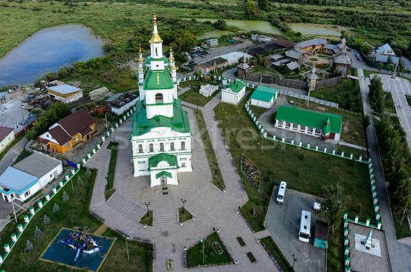 Cathédrale forteresse Russie août 20 originale Photo stock © Aikon