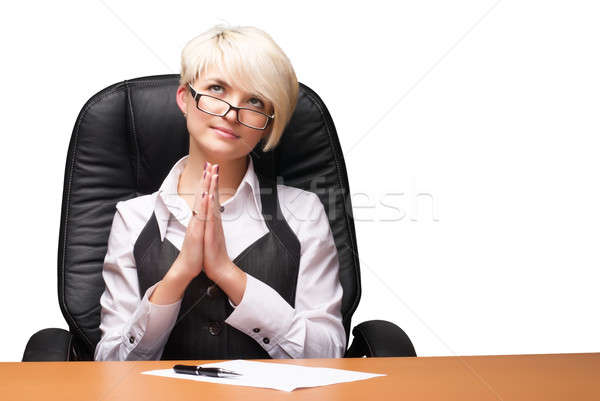 Young businesswoman Stock photo © Aikon