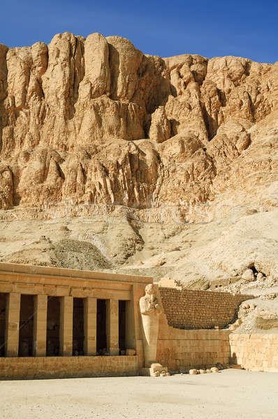 Tempel luxor rivier Egypte wereld kunst Stockfoto © Aikon