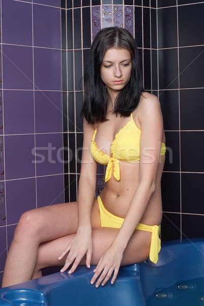 Girl in bath Stock photo © Aikon