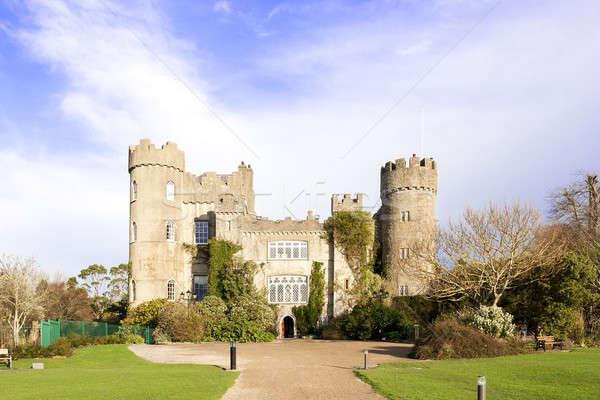 Kasteel middeleeuwse Dublin Ierland architectuur Europa Stockfoto © Aitormmfoto