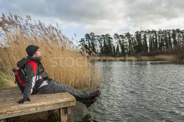 Man having a rest Stock photo © Aitormmfoto