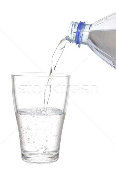 水 ガラス 孤立した 白 自然 ストックフォト © Aitormmfoto