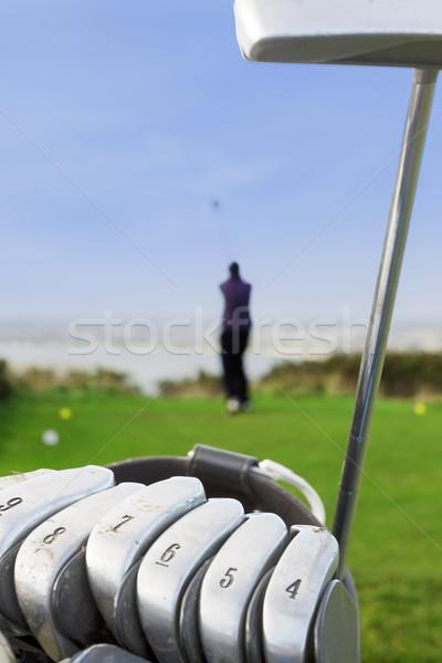 Golf Swing Stock photo © Aitormmfoto