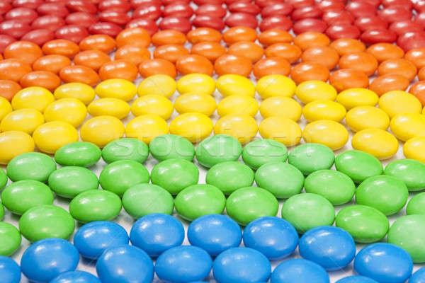 Colorato cioccolato candy gay sfondi stile di vita Foto d'archivio © Aitormmfoto