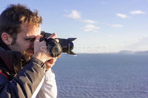 小さな カメラマン 空 ストックフォト © Aitormmfoto