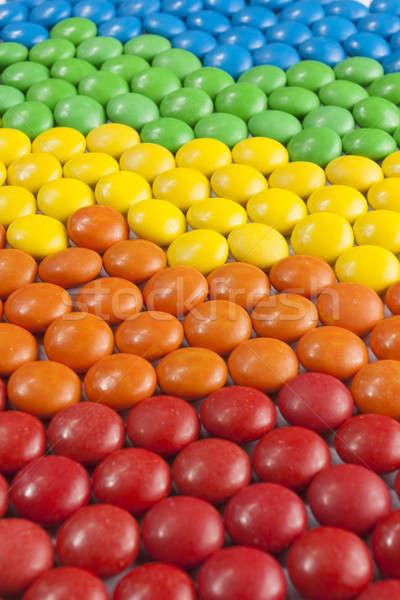 Kleurrijk chocolade snoep homo achtergronden lifestyle Stockfoto © Aitormmfoto