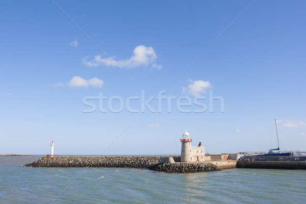 Stok fotoğraf: Deniz · feneri · liman · Bina · doğa · okyanus · seyahat