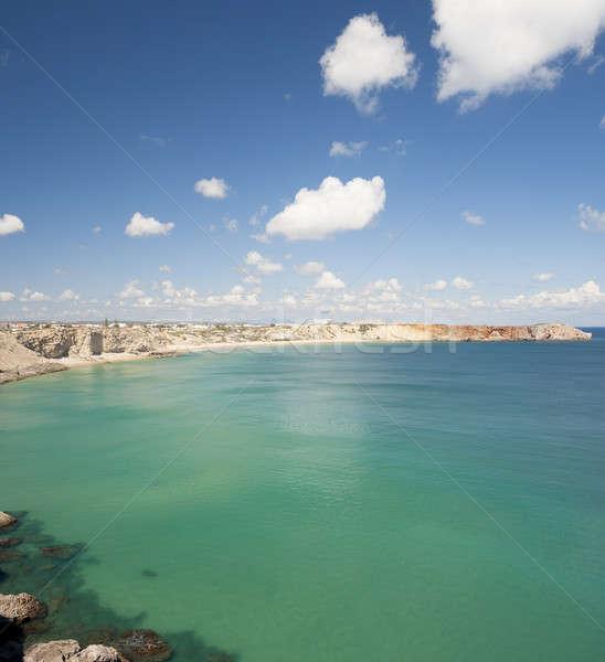 ストックフォト: 美しい · 崖 · ポルトガル · 海岸 · 風景 · ビーチ