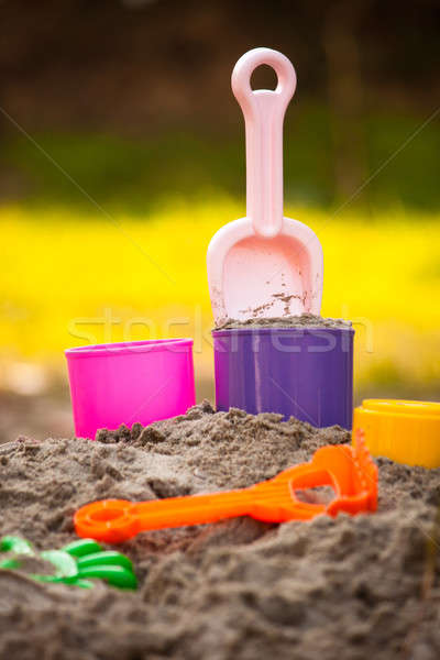 Sand Pail and Shovel Stock photo © ajfilgud