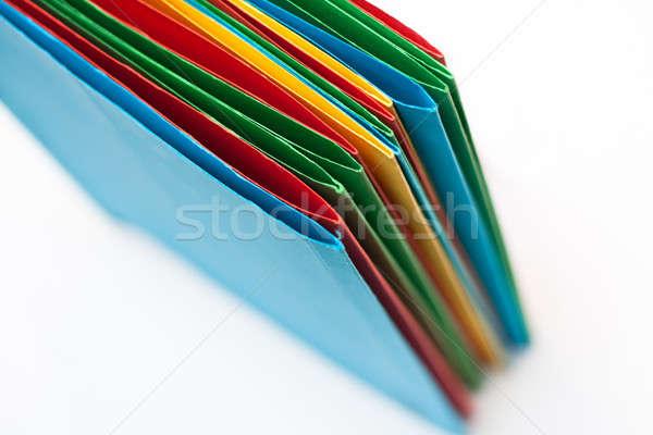 Document folder Stock photo © ajfilgud
