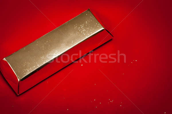 Gold bullion Stock photo © ajfilgud