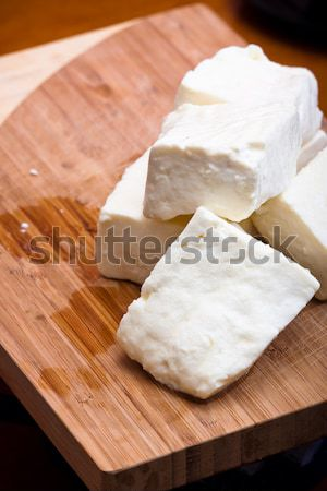 Curd cheese Stock photo © ajfilgud