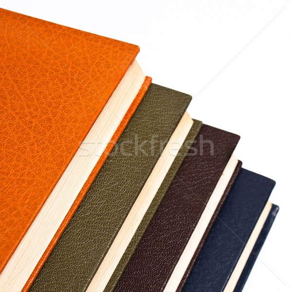 Kitaplar dört eski boş kitap farklı Stok fotoğraf © ajfilgud