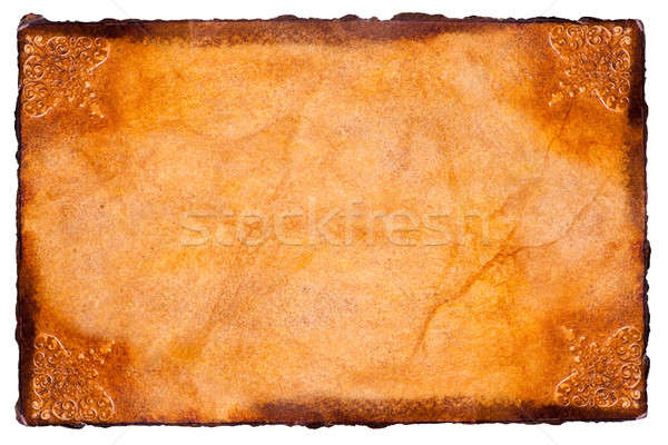 Parchment paper Stock photo © ajfilgud